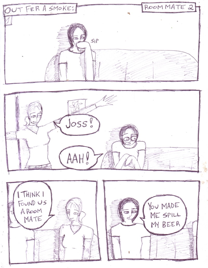 Roommate 2 - Page 1