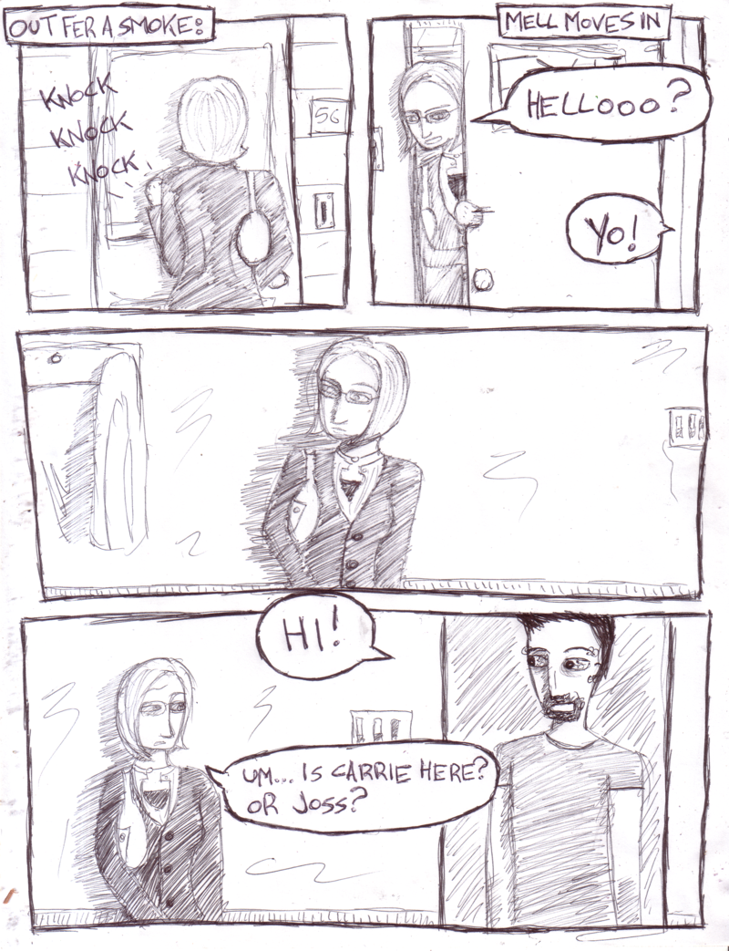Mell Moves In - Page 1